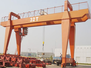 electric magnet Gantry Crane